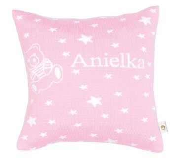 Martello Pink pillowcase with stars