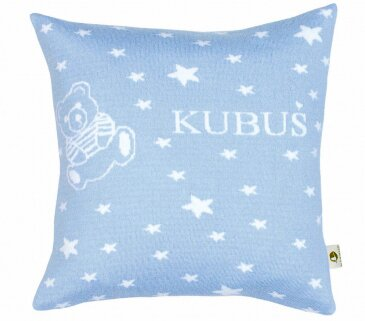 Martello Blue pillowcase with stars
