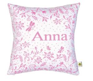 Martello Pink pillowcase with flowers