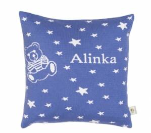 Martello DarkBlue pillowcase with stars