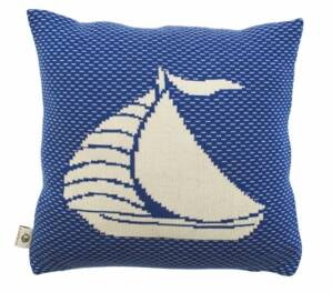 Martello Pillowcase with boat